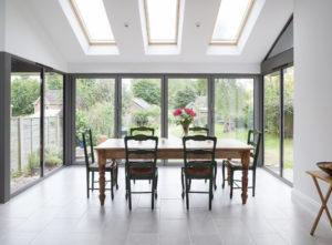 Modern House Extension Installation
