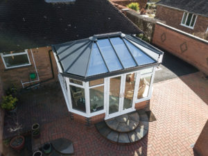 Glass Roof Extension Costs Leeds