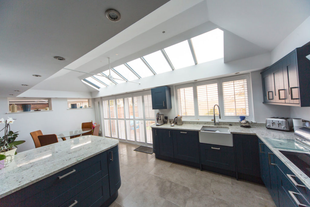 thermally efficient house extension