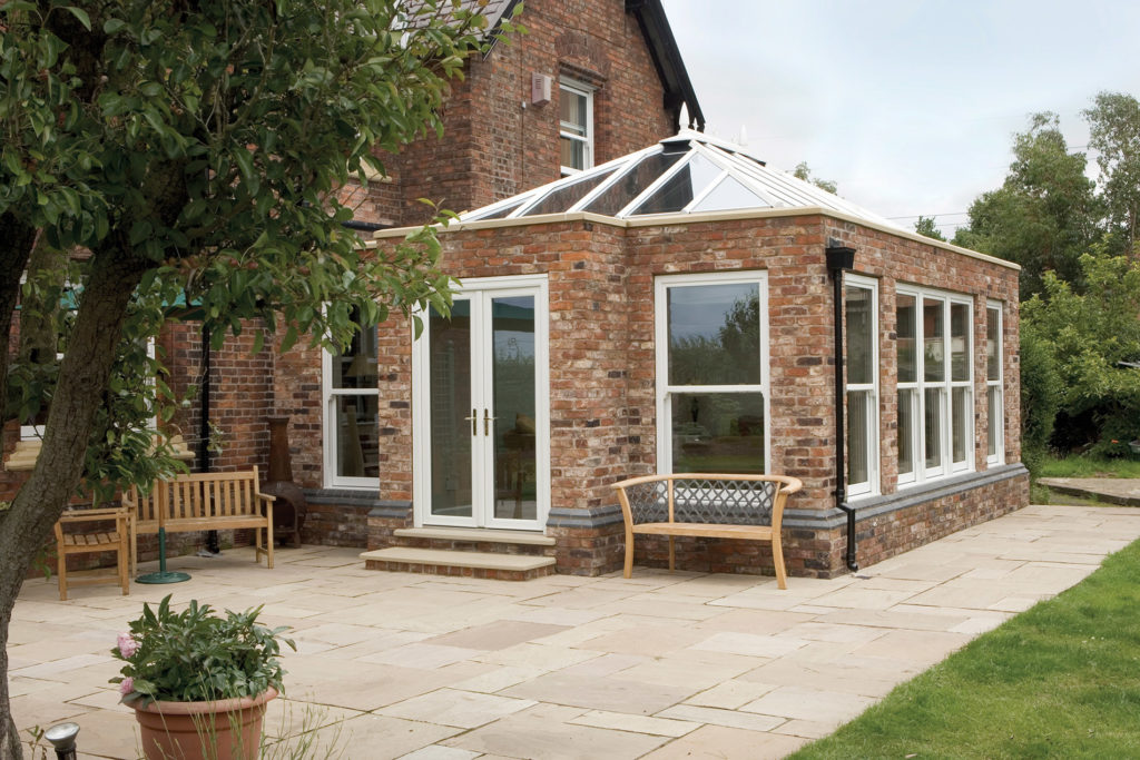 difference between a conservatory & orangery