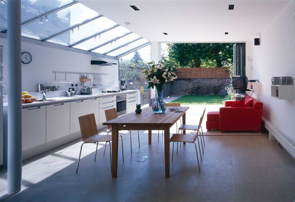 house extension thermally efficient